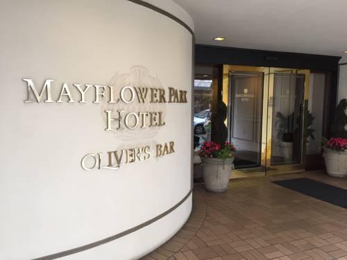 Mayflower Park Hotel doorman